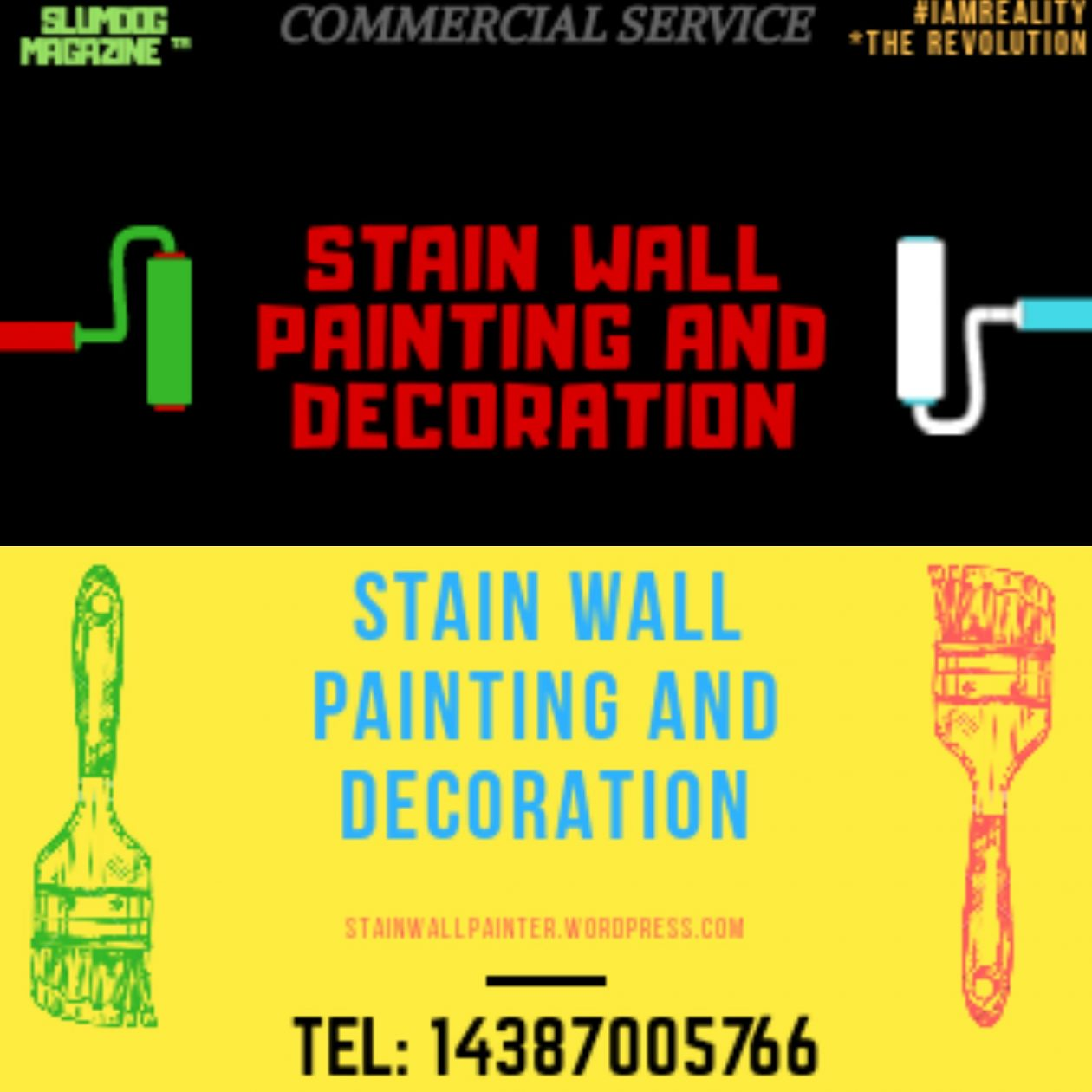 STAIN WALL PAINTING AND DECORATION